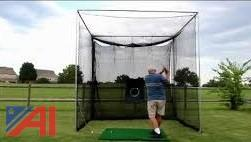 (3) Golf Practice Driving Cages