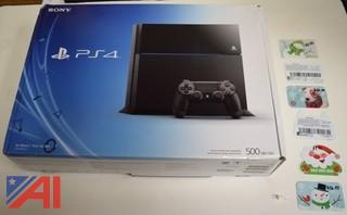 PS4 Game System, Video Games and Gift Cards