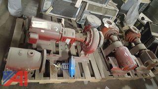 Lot of Industrial Water Pumps
