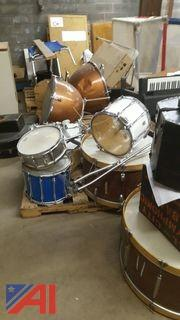 Lot of Assorted Percussion Instruments