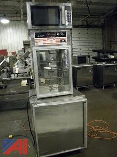 Prep Table, Warmer, Microwave