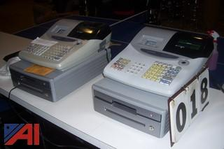 (2) Casio Cash Registers