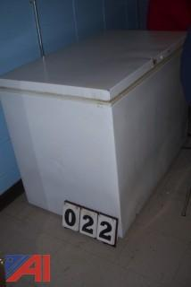 Crosley Horizontal Freezer
