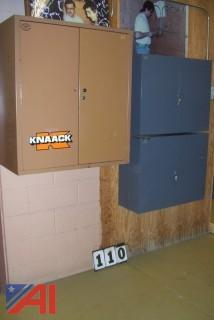 (3) Knaack Wall Cabinets with Contents