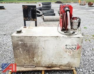 Truck Mountable Fuel Transfer Tank With Hose & Reel