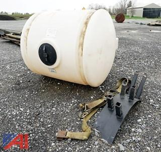 200 Gallon Poly Liquid Tank & Brackets