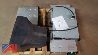 Monitor, (4) APC Rackmount UPS
