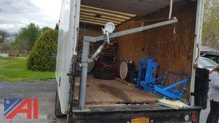 Truck Crane With Cable Winch