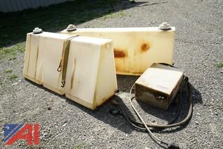 3) Pc Monroe Poly Brine Tanks