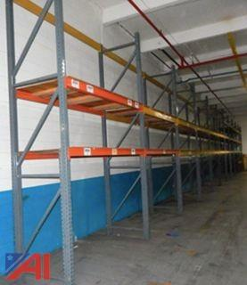 (5) Sections of Pallet Racking