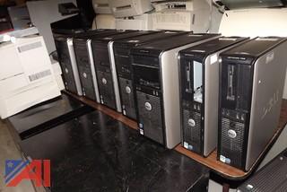 (7) Dell OptiPlex 755 & 760 Computers