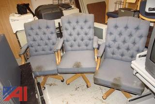 (3) Jasper office Chairs