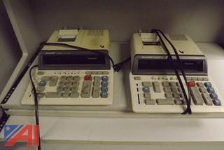 (2) Sharp Compet QS 2770A Calculators