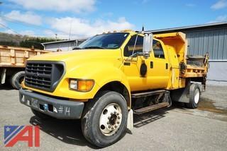 2003 Ford F750 Super Duty Dump Truck