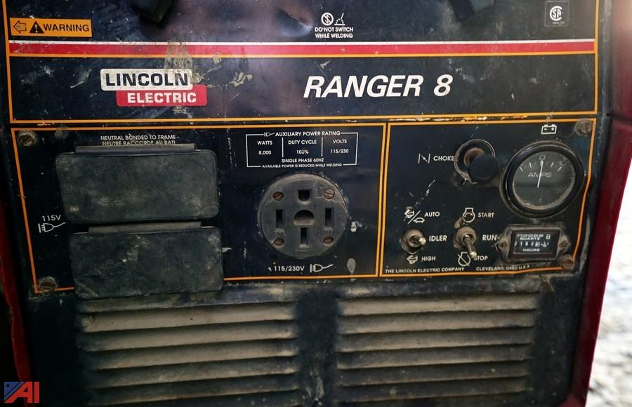 Lincoln Ranger 8 Pc Board on