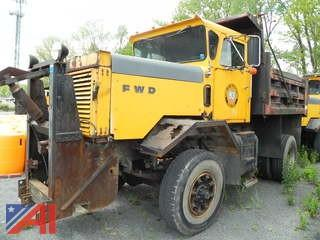1987 FWD RB44-2213 Dump
