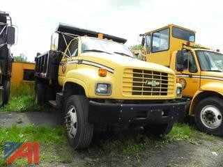 2000 Chevy C7H042 (C7500) Dump