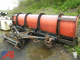 12' Frink Power Angle Worm Gear Driven Snow Plow (#65)