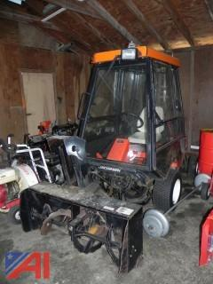 """Jacobsen Turfcat T428D 4WD Tractor w/ 72"""" Mower & Snow Blower Attachments"""