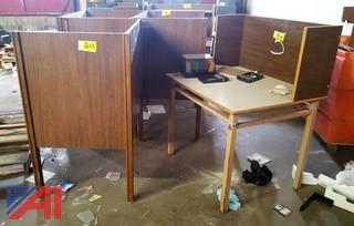 (6) Study Carrel Desks