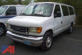 2003 Ford E350 15 Passenger Van