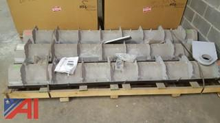 (3) New OLD stock of Zum Flo-Thru Perma-Trench Drains