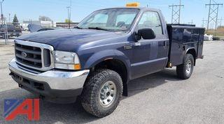 2003 Ford F250 XLT Super Duty Pickup Truck
