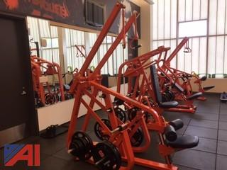 (2) Nautilus Pull Down Gym Machines