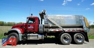 2009 Mack GU713 MUNIbody Dump/Plow & Spreader Truck
