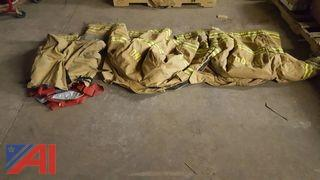 Lot of Assorted Fire Fighter Turn Out Gear