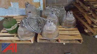 Lot of Hanging Light Fixtures
