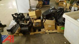 Lot of Patrol Car Internal Components