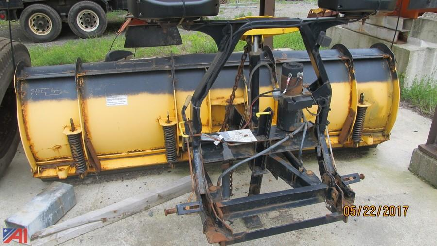 auctions international - auction: town of sand lake #10964 item: 2005 9' fisher  minute mount 2 plow