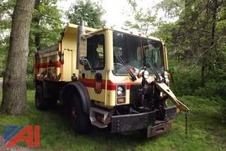 2001 Mack MR688P Dump with Plow and Sander