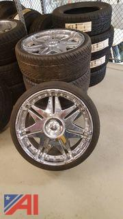 Lot of Tires on Rims