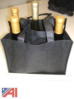 Skid of Wine Bottle Bags