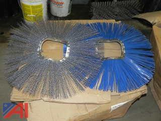 """Lot of 6 3/8"""" x 24"""" Sweeper Wafers-Convoluted (Never Used)"""