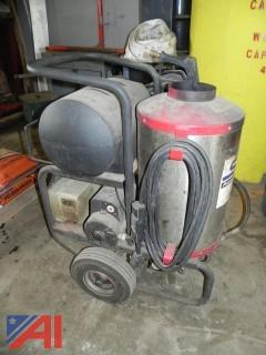 North Star 220v Industrial Hot Water Pressure Washer Model 1572261A