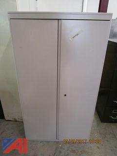 File Cabinet, Metal Cabinets & Book Shelf
