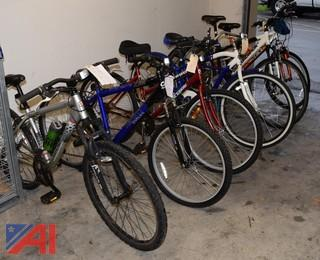 (6) Adult Bicycles