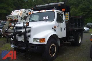 1993 International 4900 Dump
