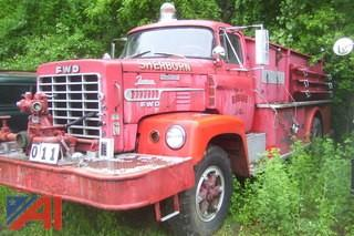 1970 FWD Tractioneer Fire Truck