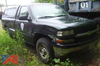 2001 Chevy Silverado 1500 4X4 Pickup
