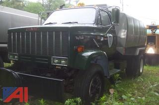 1989 GMC Top Kick 7000 Tank Truck