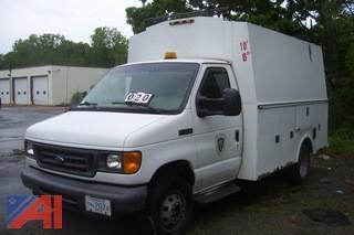 2007 Ford E350 Enclosed Utility Van