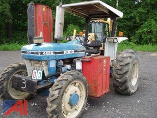 1990 Ford 4610 Mowing Tractor