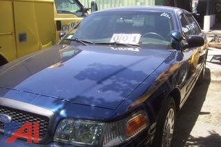 2004 Ford Crown Victoria 4DSD/Police Interceptor