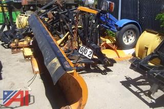 9' Fisher Minute Mount Plow