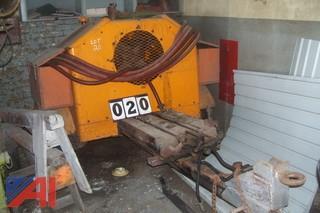 Lindsay Tow Behind Air Compressor