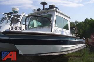 1987 Monarch Aluminum HS87 24' Patrol Boat
